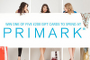 COMPETITION: Win a £200 gift card to spend at Primark!
